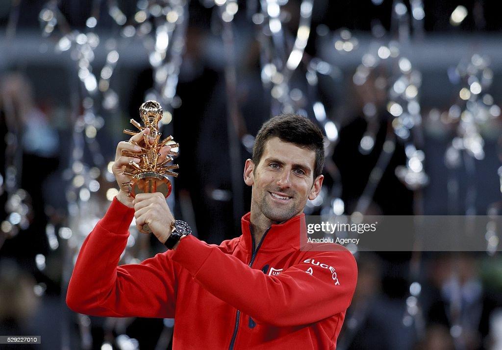 Novak Djokovic vs Andy Murray: Mutua Madrid Open Tennis 2016 : News Photo