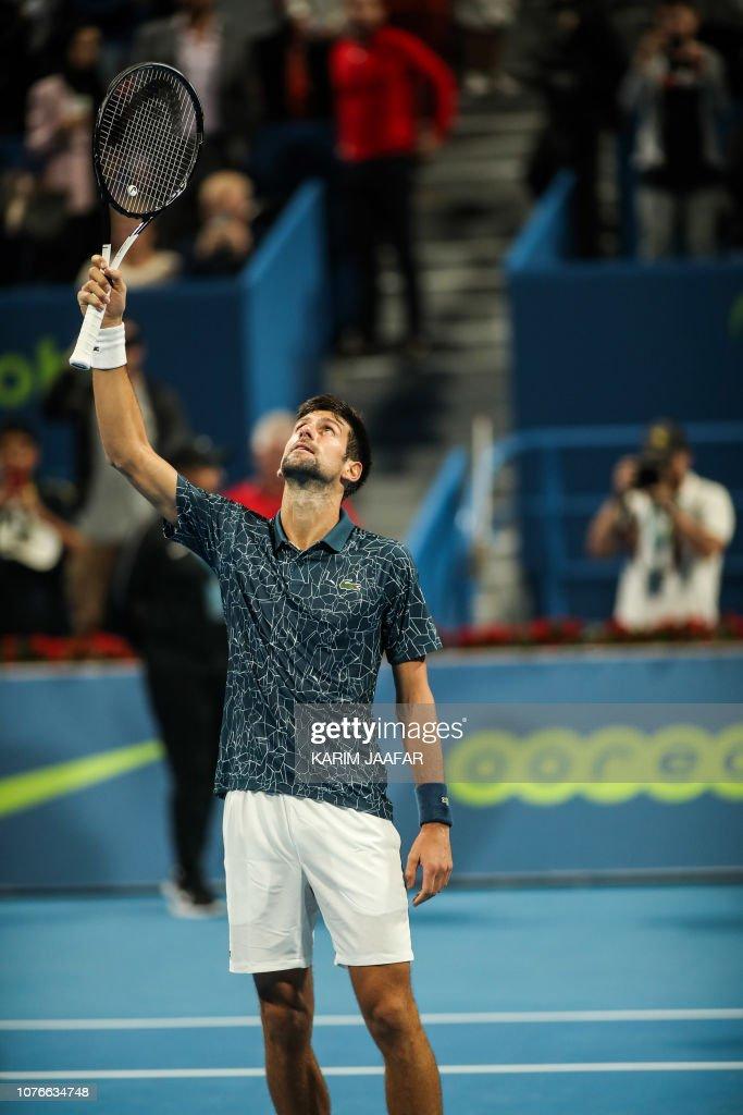 TENNIS-ATP-QAT : Foto jornalística