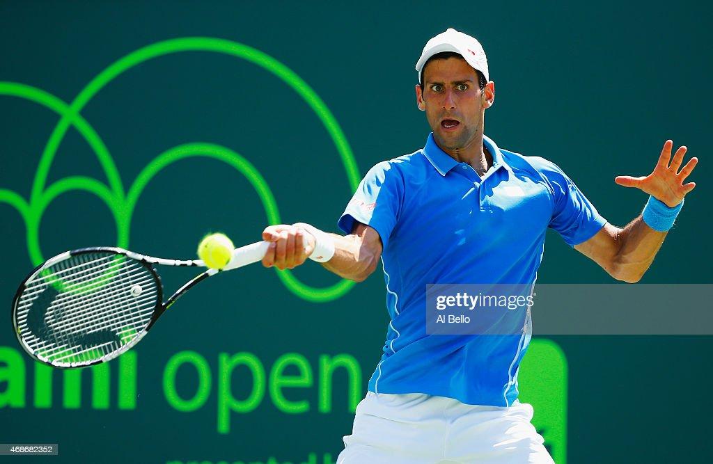 Miami Open Tennis - Day 14 : News Photo
