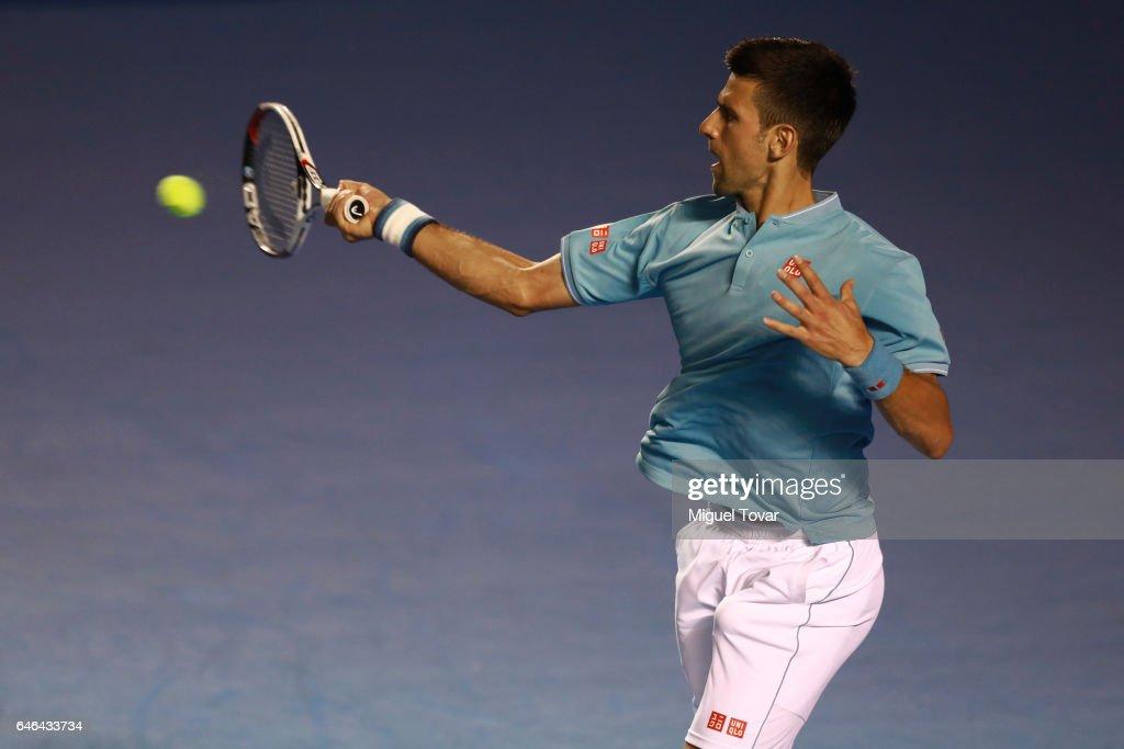 Abierto Mexicano Telcel Day 2 - Djokovic v Klizan : News Photo