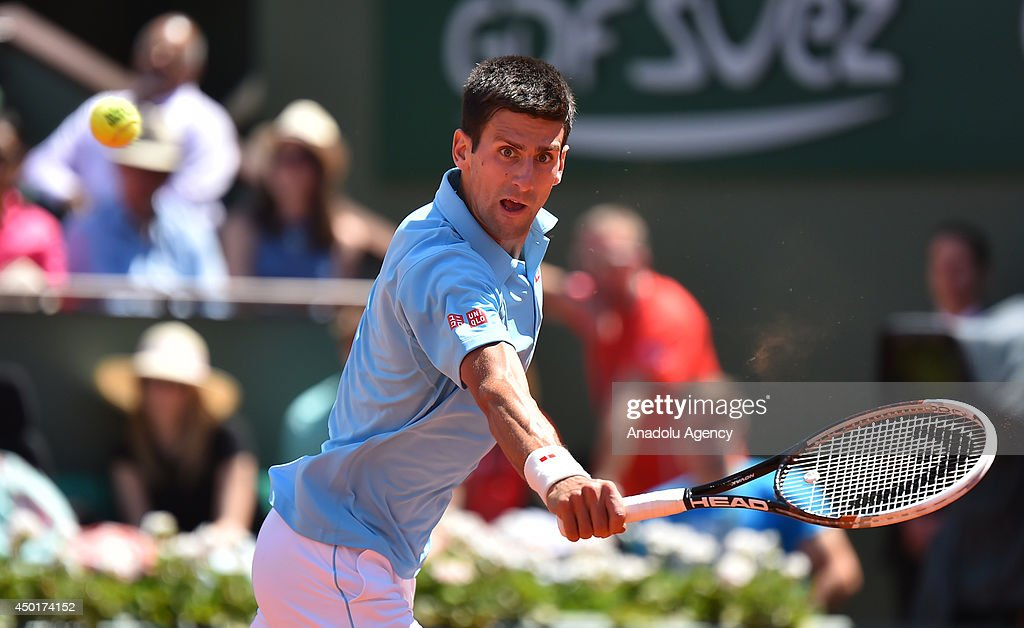 2014 French Open - Men's semi final : News Photo