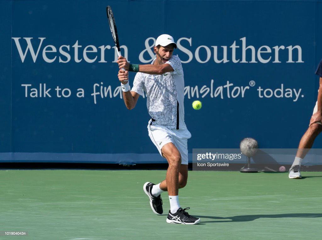 TENNIS: AUG 18 Western & Southern Open : News Photo