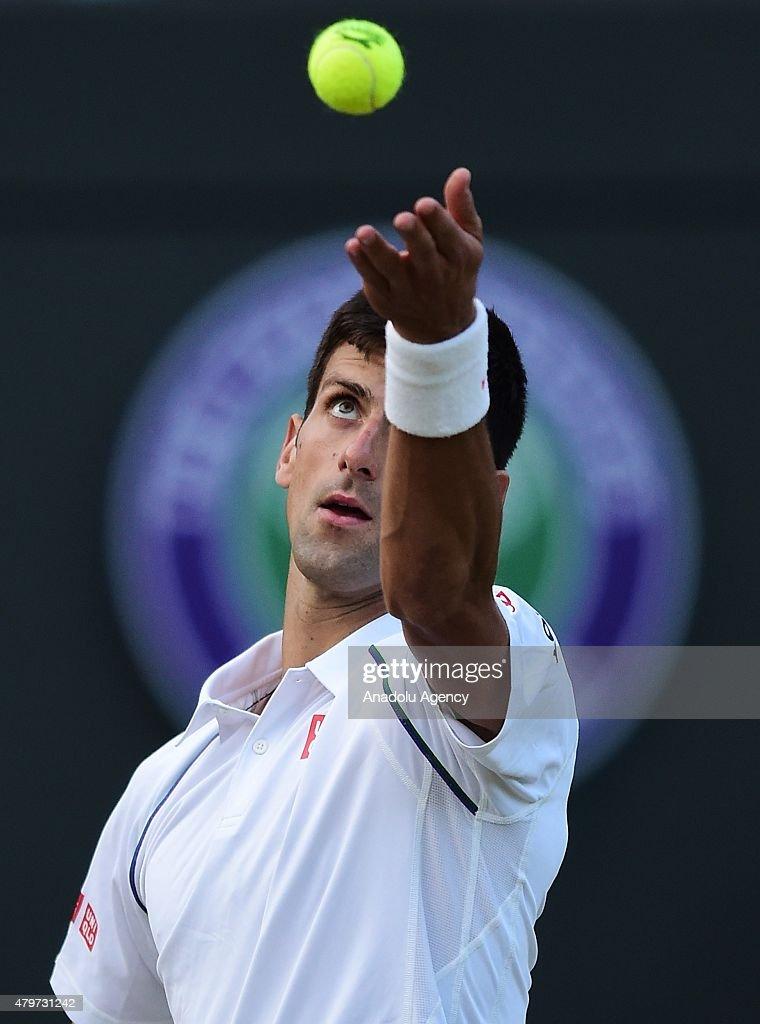 Wimbledon Lawn Tennis Championships - Day Eight : ニュース写真
