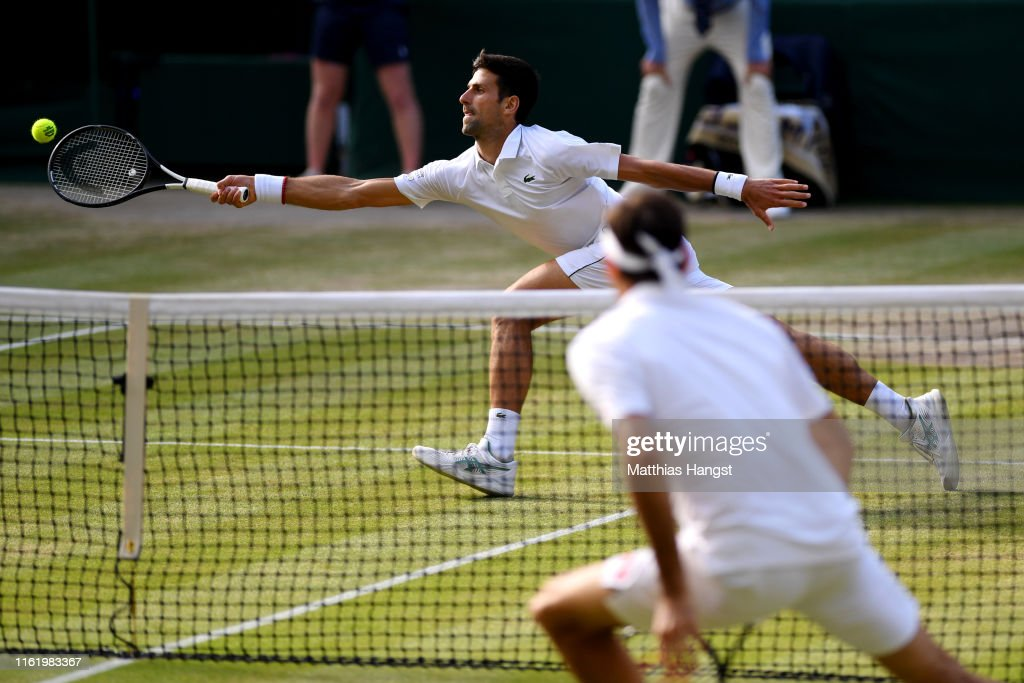 Day Thirteen: The Championships - Wimbledon 2019 : Foto jornalística