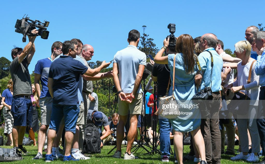 2019 Australian Open Trophy Presentation : News Photo