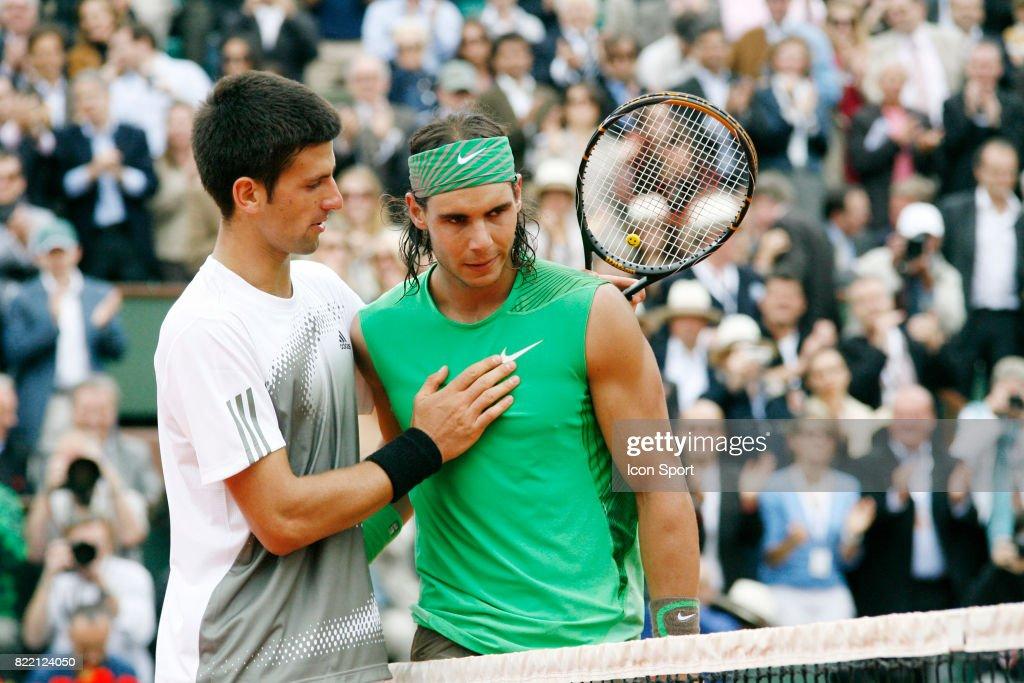 Novak DJOKOVIC / Rafael NADAL - - Roland Garros 2008 - 1/2 Finale ...