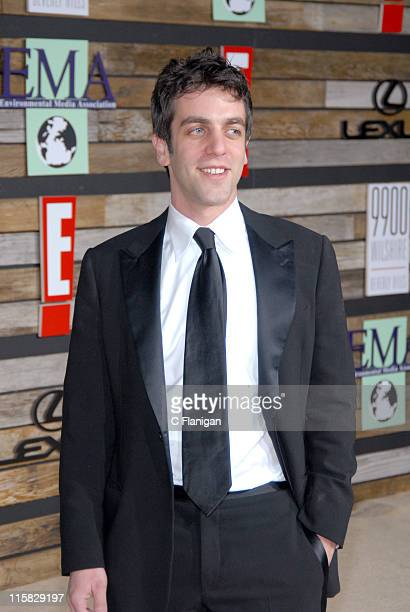 BJ Novak during EMA E Golden Green Party at 9900 Wilshire Blvd in Beverly Hills California United States