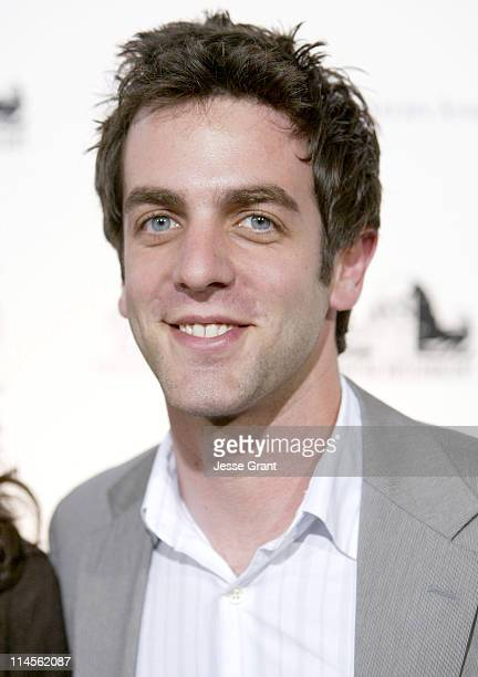 BJ Novak during Griffith Observatory ReOpening Galactic Gala at Griffith Observatory in Los Angeles CA United States