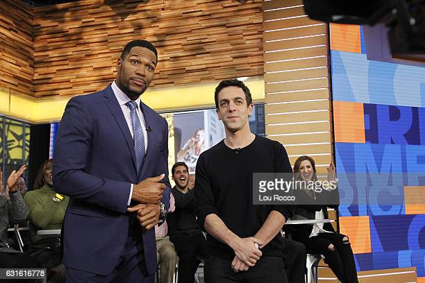 """Novak is a guest on """"Good Morning America,"""" 1/13/17, airing on the Walt Disney Television via Getty Images Television Network. MICHAEL STRAHAN, BJ..."""