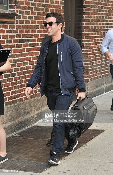 J Novak is seen on May 11 2016 in New York City