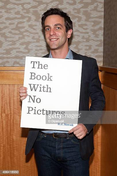 J Novak promotes his book 'The Book With No Pictures' at Barnes Noble 86th Lexington on September 30 2014 in New York City