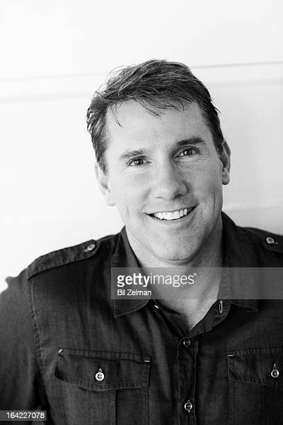 Novelist and screenwriter Nicholas Sparks is photographed for Risen Magazine on September 21 2010 in San Diego California