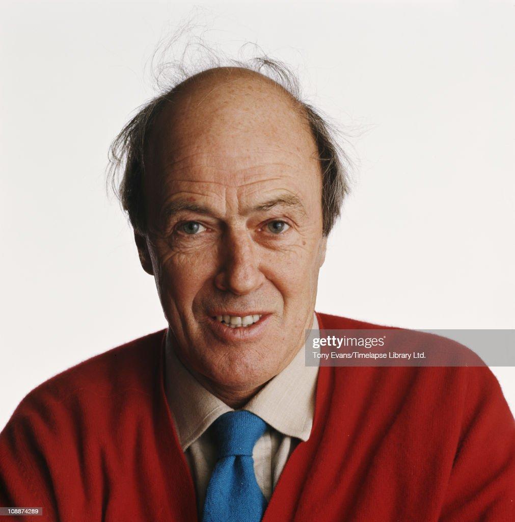 Novelist and screenwriter Roald Dahl, 1976.
