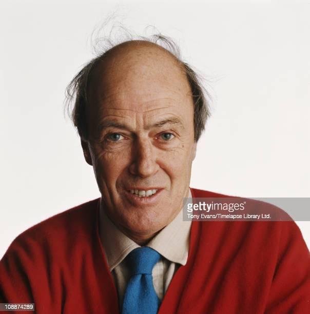 Novelist and screenwriter Roald Dahl 1976