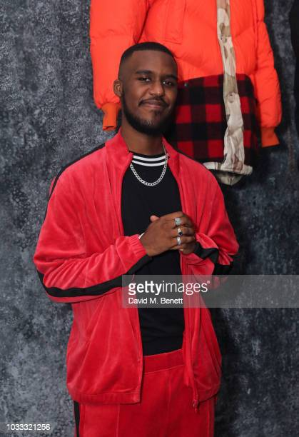 Novelist attends the Griffin X Woolrich capsule collection launch presented by Highsnobiety during London Fashion Week September 2018 at 180 The...