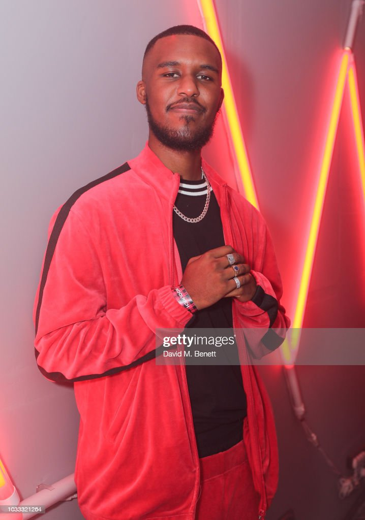 Novelist attends the Griffin X Woolrich capsule collection launch presented by Highsnobiety during London Fashion Week September 2018 at 180 The Strand on September 14, 2018 in London, England.
