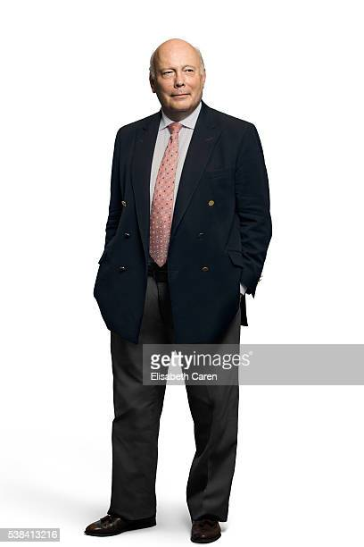 Novelist director and screen writer Julian Fellowes is photographed for Emmy Magazine on December 15 2015 in Los Angeles California Photo by...