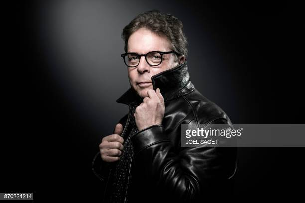 TOPSHOT US novelist Douglas Kennedy poses during a photo session in Paris on November 2 2017