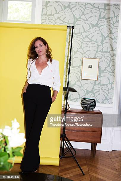 Novelist Emilie Frèche is photographed for Madame Figaro on June 8 2015 in Paris France PUBLISHED IMAGE CREDIT MUST READ Theodora...