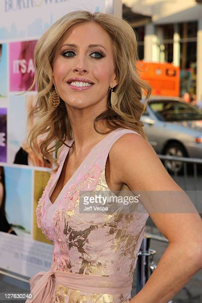 Novelist Emily Giffin arrives at the premiere of Something Borrowed held at Grauman's Chinese Theatre on May 3 2011 in Hollywood California
