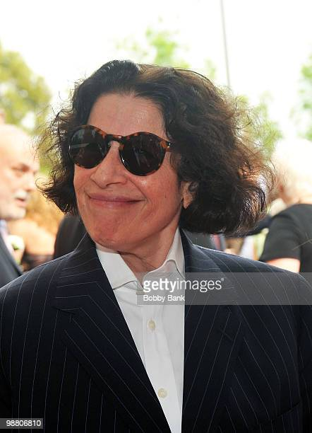 Novelist Fran Lebowitz attends the 3rd Annual New Jersey Hall of Fame Induction Ceremony at the New Jersey Performing Arts Center on May 2 2010 in...