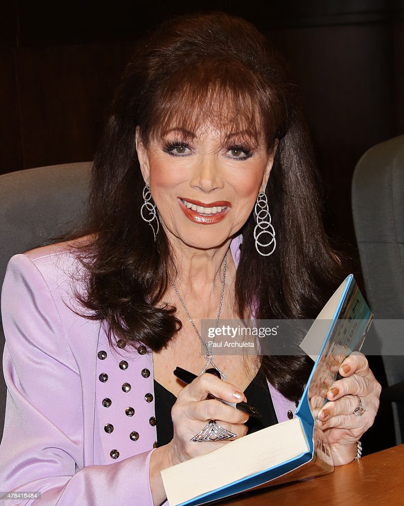 "Jackie Collins Signs And Discusses Her New Book ""The Santangelos"""