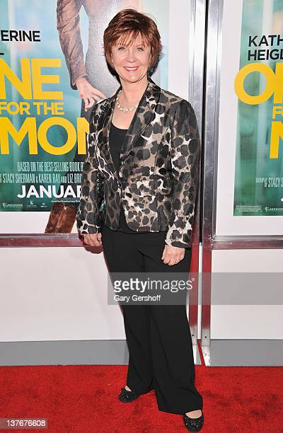 Novelist Janet Evanovich attends the One for the Money premiere at the AMC Loews Lincoln Square on January 24 2012 in New York City