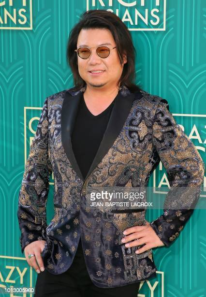 Novelist Kevin Kwan author of 'Crazy Rich Asians' attends the premiere of Warner Bros Pictures' 'Crazy Rich Asians' in Hollywood California on August...