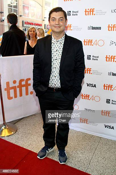 Novelist Kevin Wilson attends 'The Family Fang' premiere during the 2015 Toronto International Film Festival at the Winter Garden Theatre on...