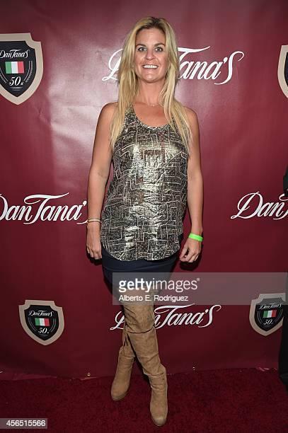 Novelist Liz Crokin attends Dan Tana's 50th Anniversary Party at Dan Tana's Restaurant on October 1 2014 in West Hollywood California