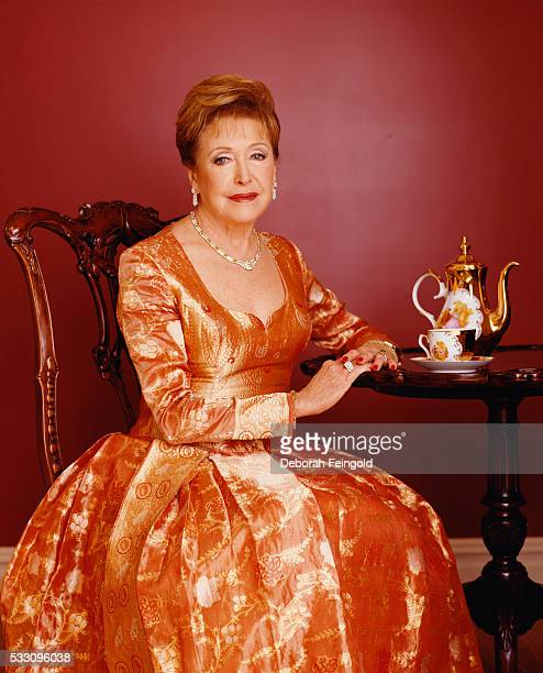 Novelist Mary Higgins Clark in Her Home Office in New Jersey