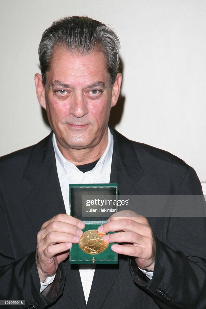 Author Paul Auster Receives Honor Medal of The City of Paris