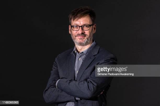 Novelist, poet and teacher Will Eaves attends a photo call during Edinburgh International Book Festival 2019 on August 16, 2019 in Edinburgh,...