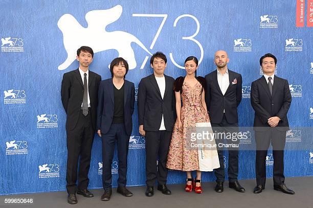 Novelist Tokuro Nukui, screenwriter Kosure Mukai, director Kei Ishikawa, actress Hikari Mitsushima, director of photography Piotr Niemyjski and...