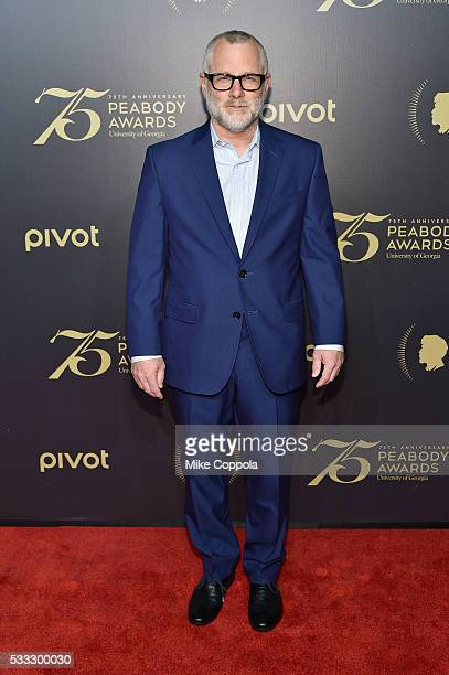 Novelist Tom Perrotta attends The 75th Annual Peabody Awards Ceremony at Cipriani Wall Street on May 20 2016 in New York City