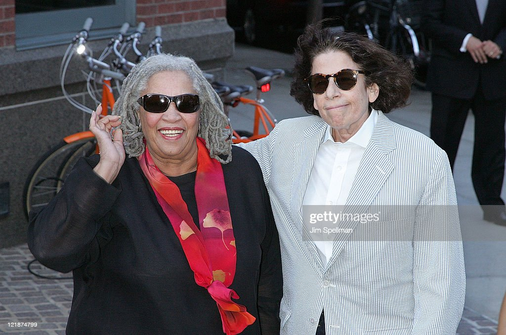 Novelist Toni Morrison and writer Fran Leibowitz attend 'The Debt' screening at the Tribeca Grand Hotel - Screening Room on August 22, 2011 in New York City.