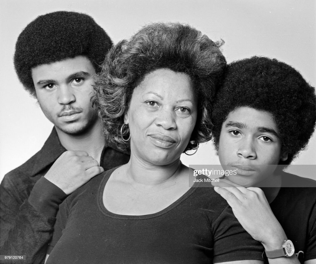 Toni Morrison With Her Sons Slade And Ford : News Photo