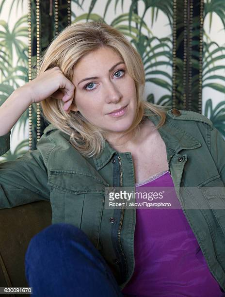 Novelist/screenwriter Amanda Sthers is photographed for Madame Figaro on July 6 2016 in Paris France Jacket and top PUBLISHED IMAGE CREDIT MUST READ...