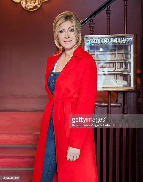 Novelist/screenwriter Amanda Sthers is photographed for Madame Figaro on July 6 2016 in Paris France Coat PUBLISHED IMAGE CREDIT MUST READ Robert...