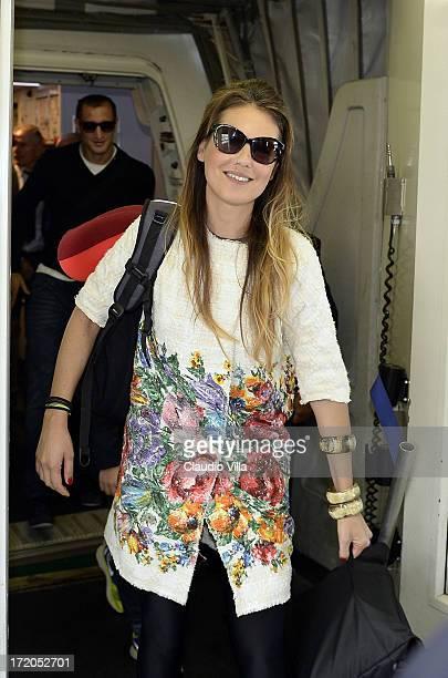 Novella Benini at Malpensa Airport on July 1 2013 in Milan Italy
