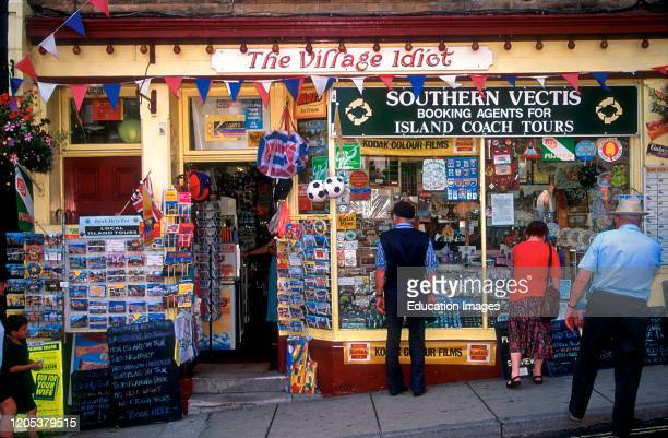 Novelty shop Shanklin Isle of Wight England
