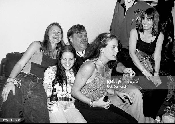 Singer/Songwriter Col. Bruce Hampton Ret. And friends attend Blues Traveler after party hosted by A&M Records at The Fox Theater in Atlanta Georgia,...