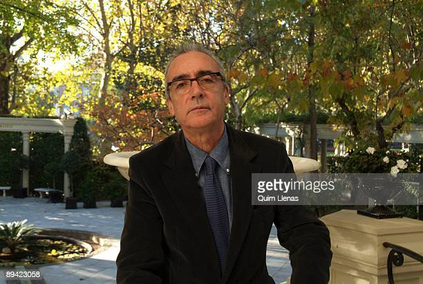 November 07 2007 Ritz Hotel Madrid Spain Portrait of the writer Juan Jose Millas winner of this year's Planeta Prize for 'El Mundo'