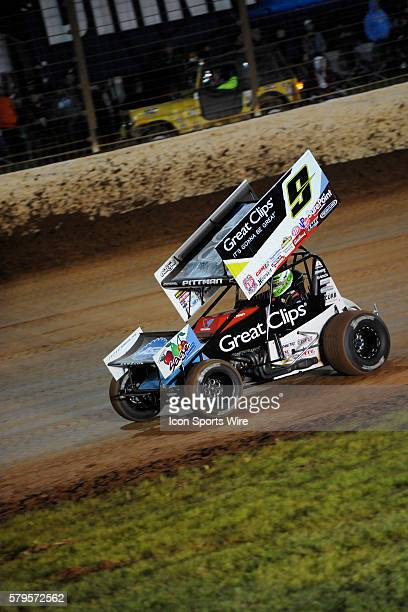 November 08   Saturday: Daryn Pittman in the World Finals World of Outlaws Sprint Car race on The Dirt Track at Charlotte in Concord, North Carolina.