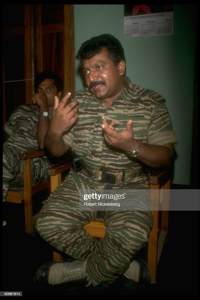Velupillai Prabhakaran : News Photo