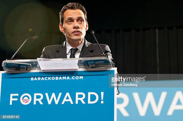November 1 2012 MARC ANTHONY First Lady Michelle Obama Speaks To Grassroots Supporters In Miami