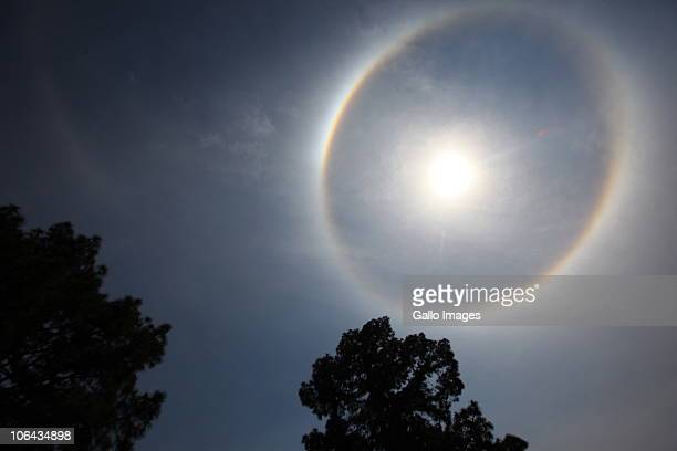 AFRICA November 1 South Africans were surprised to see a rainbow wrapped around the sun almost like a halo at around 10am on 1 November 2010 in the...