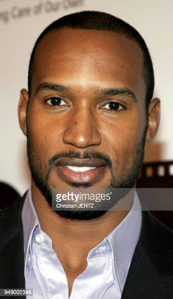November 10 2005 Beverly Hills Henry Simmons at the Celebrity Screening of Twentieth Century Fox 'Walk The Line' at the Academy of Motion Picture...