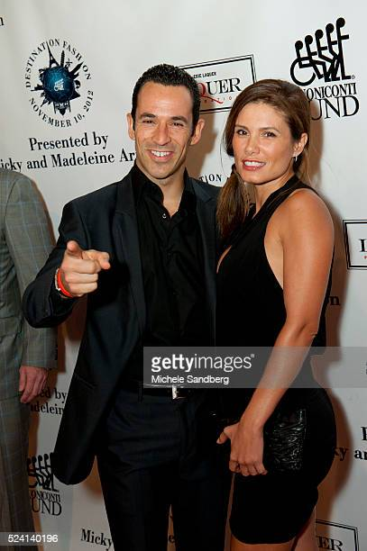 November 10 2012 Adriana Henao Helio Castroneves Buoniconti Fund To Cure Paralysis Emilio Pucci Spring Fashion 2013 Event Special Performance By...