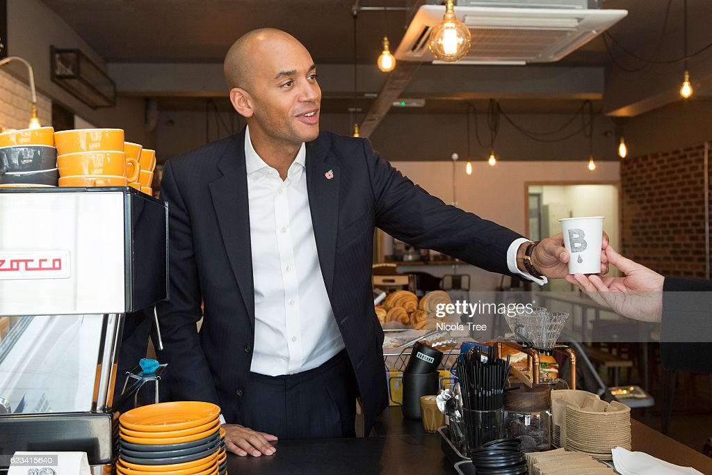 "Chuka Umunna Promotes ""Small Business Saturday"""
